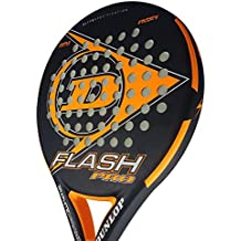 Dunlop FLASH PRO - Pala de pádel 38mm, 2018, nivel iniciación, color naranja