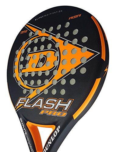 DUNLOP Flash Pro Schläger für Tennis, Unisex-Erwachsene Einheitsgröße orange