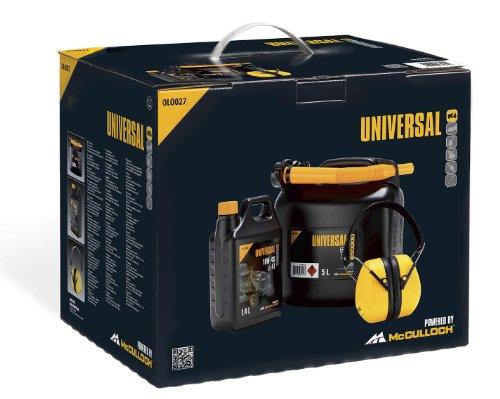 UPM 577616427 - Kit de arranque para tractores. Contenido; Aceite de 4 tiempos 10W-40 (OLO026). Garrafa de 5 litros (OLO020). Orejeras (PRO011)