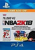 NBA 2k18 75,000 VC [PS4 Download Code - UK Account]