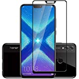 TheGiftKart 6D Tempered Glass Screen Protector For Honor 8X (Black) (Limited Period Special Offer)