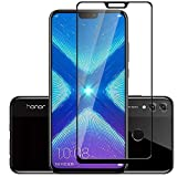 #8: Honor 8X Tempered Glass: TheGiftKart 6D Tempered Glass Screen Protector for Honor 8X (Black) (Launch Day Special Offer)