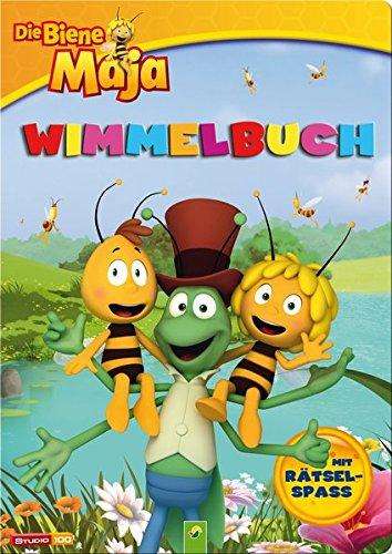 Preisvergleich Produktbild Wimmelbuch Die Biene Maja: Mit Rätselspaß