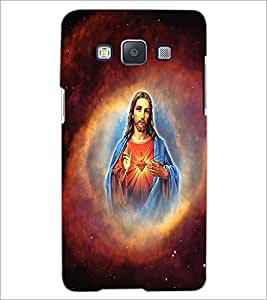Printdhaba Lord Jesus D-3751 Back Case Cover For Samsung Galaxy E5