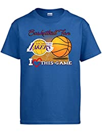 Camiseta NBA Los Angeles Lakers Baloncesto Basketball fan I Love This Game