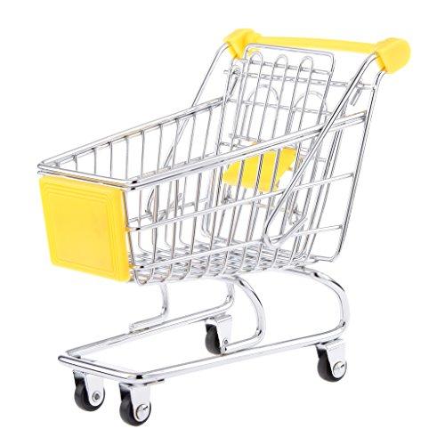 Mini-Warenkorb Trolley Spielzeug Größe M - Gelb, /