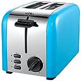 Alexa a7to2r85te–Stahl Blau 2Scheiben Toaster, 850W, Blau