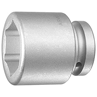 ASW 74019 Impact Hex Socket, Silver, 3/4-Inch/36 mm