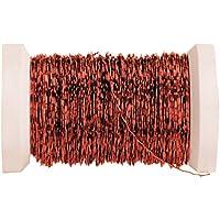 GLOREX Effektdraht 0,3 mm Metall, Draht, Rot, 9.5 x 8.5 x 3 cm