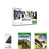 Xbox One S 1 TB Konsole - Starter Bundle + Standfuß + Minecraft + Forza Horizon