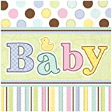 Amscan International Tiny Bundle Party Napkins, Pack of 36