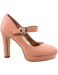 59826f5dce9 Amazon.es  Elara - Zapatos de tacón   Zapatos para mujer  Zapatos y ...