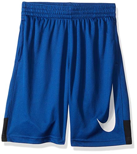 Nike-basketball-shorts-blau (Nike Jungen B NK Dry HBR Shorts, Indigo Force/Black, M)