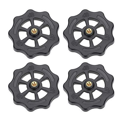 Acouto 3D-Drucker Hotbed Platform Knob, 3D-Drucker, 4PCS 3D-Drucker Teile CR-10 Hotbed Platform Knob für CR-10 CR-10s 3D-Drucker Zubehör