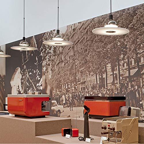 Lámpara De Araña De Metal De Una Sola Cabeza Redonda Nórdica Moderna Sala De Estar Dormitorio