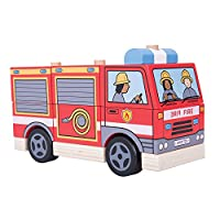 Bigjigs Toys Stacking Fire Engine