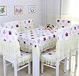 Pastoral Stoff, Tischdecken, Sitzkissen, Stuhlabdeckung,110*160CM