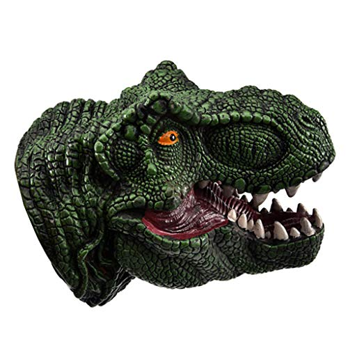 Tier Handpuppe Modell Interaktion Spielzeug Ochsen Drachen Hand Kopf Marionetten Rolle abspielen Realistisch Handschuhe Weich für Kinder