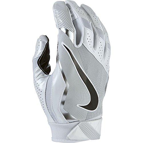 Nike Vapor Jet 4 American Football Handschuhe Receiver - White/Wolf Grey/Black (Medium)