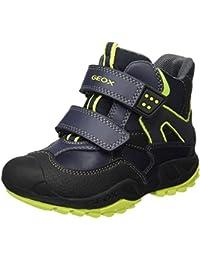 Geox Jungen J New Savage Boy C Boots mit Velcro