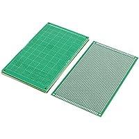 sourcing map 5pcs Single-Side soudable Prototype PCB Bord universel papier 21cmx15cm