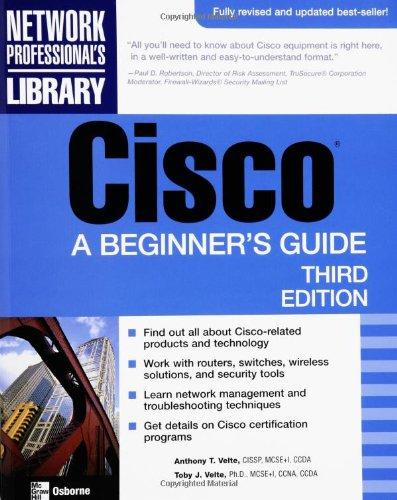 Cisco: A Beginner's Guide (Beginner's Guides (Osborne))