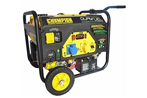 Générateur Champion 2800W Essence 2600W Générateur de courant de secours Générateur gaz...