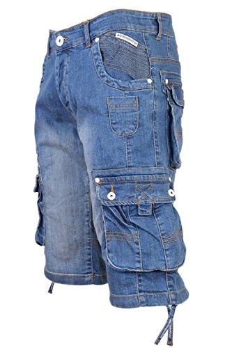 hommes-crosshatch-nordica-clair-ou-delave-fonce-decontracteete-vintage-short-jeans-delavage-clair-bl