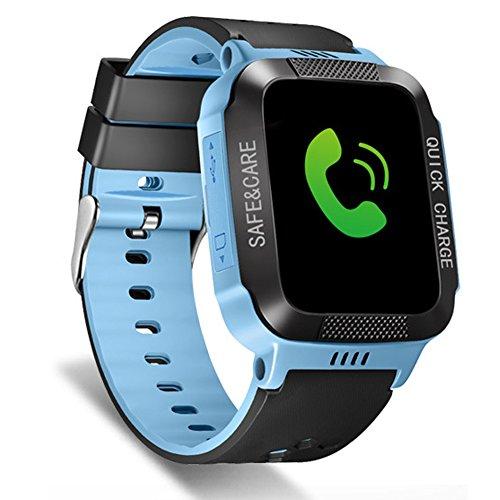 335a711c8 Tounique - Reloj inteligente para niños con 2 vías de llamada ...