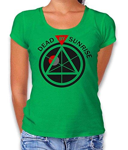 shirtminister Anonymous Damen T-Shirt Gruen XL