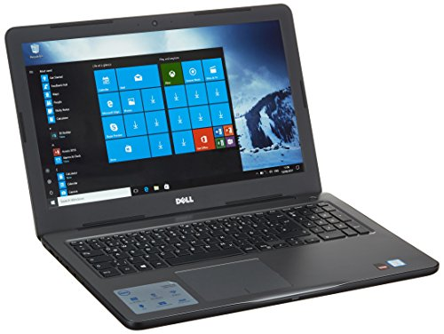 Dell Amd-notebooks (Dell 5567-1547 39,62 cm (15,6 Zoll Full HD) Inspiron 15 5000 Notebook (Intel Core i5-7500U,16 GB RAM, 256 GB SSD, AMD Radeon R7 M445, Win 10 Home) schwarz/grau)