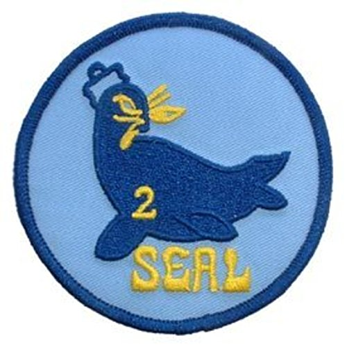 eagleemblems patch-usn, Seal Team, 02 (7,6 cm) Seal Team 2 Patch