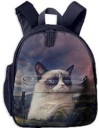 Sunmoonet Mochila pequeña, bonita mochila para gatos y gatos para niños