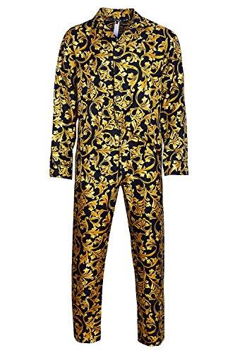 versace-barocco-silk-pyjama-set-schlafanzug-reine-seide-xxl-eur-7-i-black-gold