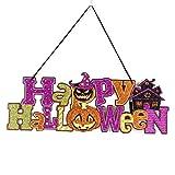 OverDose Damen Halloween Dekoration Requisiten Flash Tag Fenster Bar KTV Clubbing Party Horror Ghost Festival Szene Layout