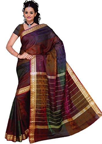 Bollywood Sari Kleid Regenbogen - Indische Kostüm Schuhe