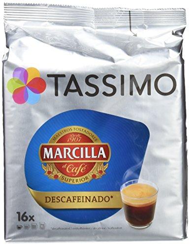 Tassimo Marcilla Descafeinado, Pack de 5 x 118.4 g