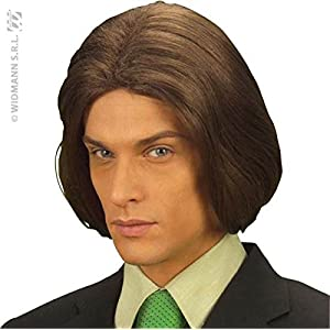 Amadeus Brown Wig for Hair Accessory Fancy Dress