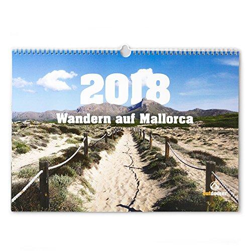 """Fotokalender """"Wandern auf Mallorca"""" 2018 von outdoorer - Kalender mit Fotos der Baleareninsel zum Träumen und Planen, DIN A3 quer"""