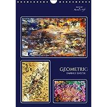 GEOMETRIC - Farbige Erotik (Wandkalender 2017 DIN A4 hoch): Zarte erotische Phantasien in kraftvollen Farben verbunden mit geometrischen Formen (Planer, 14 Seiten ) (CALVENDO Kunst)