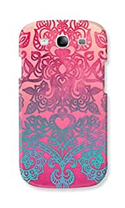 EYP Princess Pattern Back Cover Case for Samsung Galaxy S3 Neo GT-I9301