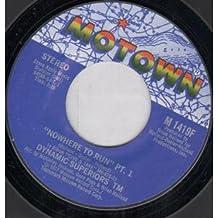 """NOWHERE TO RUN 7 INCH (7"""" VINYL 45) US MOTOWN 1977"""
