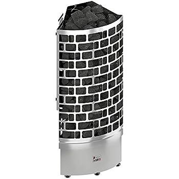 NS mod/èle Sauna Po/êle /Électrique SAWO NORDEX 2017 ; Multi-Tension: soit monophas/é ou triphas/é; Gamme de puissance: 4,5 kW; 6,0 kW; 8,0 kW; 9,0 kW; N/écessite lunit/é de contr/ôle s/épar/é