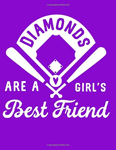 Diamonds Are A Girl's Best Friend: A Journal for Softball Players and Baseball Fans por Emily  C Tess