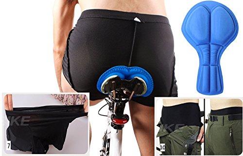 4ucycling 3D gepolstert Radsportbekleidung hautfreundliche Shorts - 5