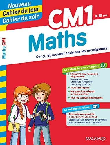 Cahier du jour/Cahier du soir Maths CM1