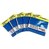 Hama 5915 - Paño de limpieza para lentes (5 paquetes de 30 unidades)