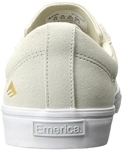 Emerica Skate Shoes - Emerica Indicator Low Sho... White/White