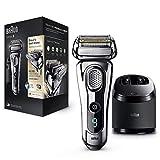Braun Series 9 9296 cc - Afeitadora eléctrica hombre, para barba, en húmedo y seco, con estación de limpieza Clean & Charge