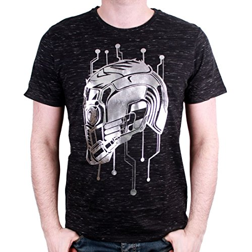 cotton division Herren T-Shirt Gris Homme